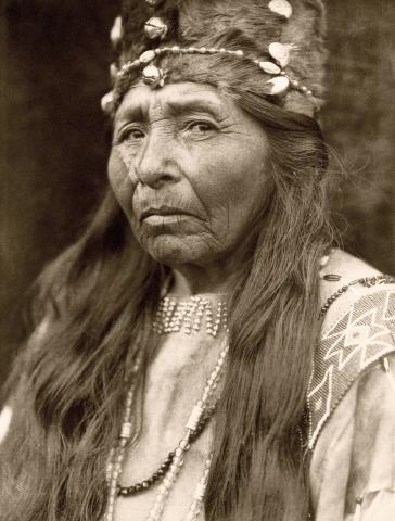 Klamath Woman 1923
